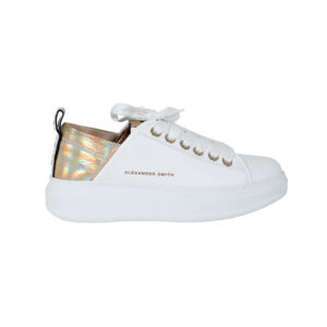 Sneakers Wembley White Gold ALEXANDER SMITH