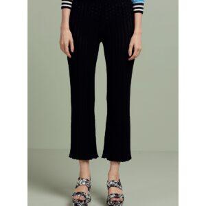 Pantalone in maglia plissè JEI'S Letizia Denaro