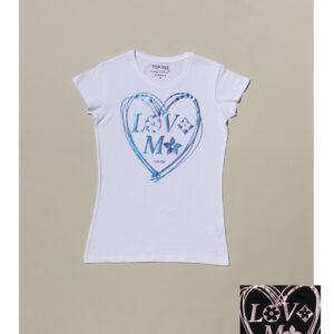 T-shirt Love Me TOP TEE