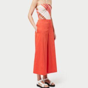 Pantaloni coulotte popeline LIVIANA CONTI