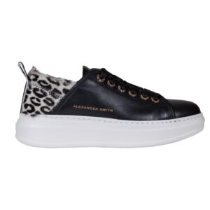 Sneakers Wembley Black Fur ALEXANDER SMITH